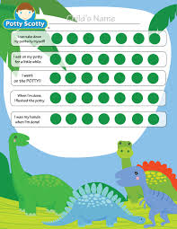 potty training in one day middot potty training charts dinosaur potty chart