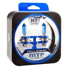 Галогенные <b>лампы MTF</b>-<b>Light</b> (МТФ-Лайт) Palladium <b>H7</b> HP3492 ...