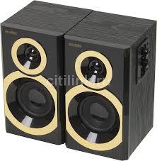Купить <b>Колонки SVEN SPS</b>-<b>619</b> GOLD, 2.0, золотистый/ черный в ...
