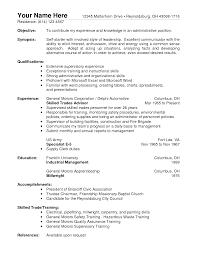 general worker resume in s worker lewesmr sample resume cv templates general manager assistant sle