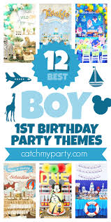 Check out the 12 Most Popular <b>Boy 1st Birthday Party</b> Themes ...