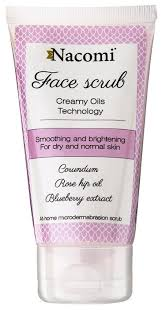 Nacomi <b>скраб для лица Face</b> scrub Creamy Oils Technology ...