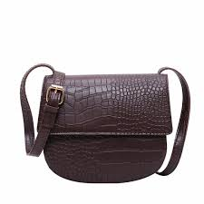2019 <b>Female Small Saddle Bag</b> Leather Women Cross Body ...