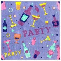 «<b>Салфетки</b> бумажные <b>ART BOUQUET</b> RONDO Цветная скатерть ...
