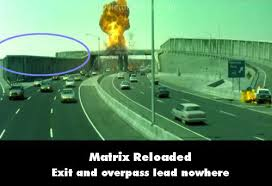 The Matrix Reloaded movie mistake picture 23