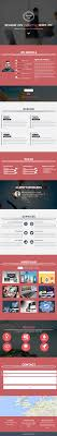 resume inn one page parallax responsive template themifycloud web page screen shot resume inn a template 1