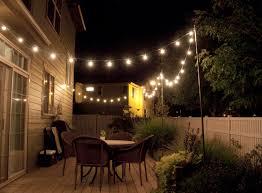 diy outdoor string lights backyard string lighting ideas