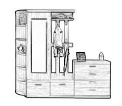 Мебель для прихожей купить по цене от 440₽ в Москве