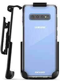 Encased Samsung Galaxy S10 Plus <b>Clear</b> Case with Holster <b>Belt</b> ...