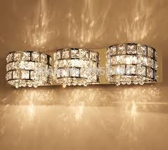 hot sales modern chrome crystal mirror lamp bathroom light led lighting beautiful bathroom lighting
