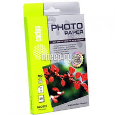 Купить <b>Cactus CS</b>-<b>GA620050E 10x15</b> 200g/m2 50 листов White ...
