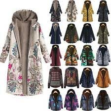 <b>Plus</b> Size <b>Cotton Casual</b> Coats & Jackets for Women for sale | eBay
