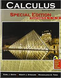 Calculus: Special Edition Chapters <b>5-8</b>, <b>11</b>, <b>12</b>, 14: STRAUSS ...