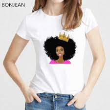 new arrival 2019 <b>Melanin Poppin</b> t shirt <b>women</b> harajuku shirt Top ...