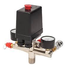 <b>90</b> ~ 120 PSI Air Compressor <b>Pressure Control Switch</b> Valve ...