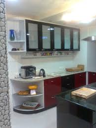 modular kitchen colors: delightful l shape modular excellent parellel shape modular kitchen black red colors kitchen cabinets wall mounted kitchen cabinets with glass doors white ceramics floor rectangle shape black kitchen island modular kitchens ki