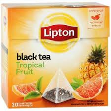 <b>Чай</b> в пирамидках <b>Lipton Black Tea Tropical</b> Fruit | Отзывы ...