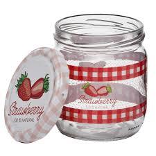 <b>банка д</b>/<b>консервирования HEREVIN</b> Strawberry 0,425л стекло с ...