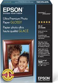 <b>Epson</b> Ultra Premium <b>Glossy Photo Paper</b> White S042174 - Best Buy