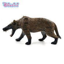 <b>Simulation</b> dire wolf Animal Model Plastic figure home decor fairy ...