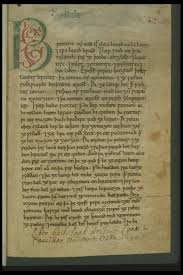 comment and translation on cynewulf and cyneheard by katharina the initial page of the peterborough chronicle marked secondarily by the librarian of the laud