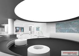 backlit circular ceiling barrisol lighting