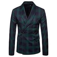 <b>Fashion</b> Clothes <b>Men</b> Plaid Suit Jacket,<b>Men's</b> Casual Blazer ...