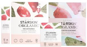 <b>Starskin Orglamic Pink Cactus</b> Collection - Beautybyfrieda
