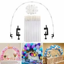 Balloon Arch Column Table Stand Base Frame Kit <b>DIY Wedding</b> ...