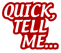 quick tell me archives tin lizard productions quick tell me the introductory edition