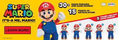 Super Mario It's-A Me, Mario! - JAKKS Pacific, Inc.