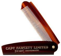<b>Расческа для бороды</b> Captain Fawcett CF.82T <b>складная</b> — купить ...