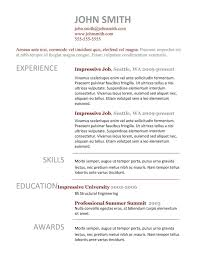 resume template 9 best templates for freshers 89 interesting resume template