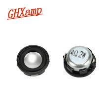GHXAMP <b>2PCS 1 inch</b> 2W <b>Mini</b> Round Speaker Bluetooth Speaker ...