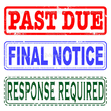 Image result for final notice