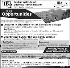 jobs in sukkur institute of business administration oct