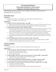 resume template sample resume summary sample resume sample resume summary of qualifications customer service unforgettable summary of qualifications on resume for customer service summary