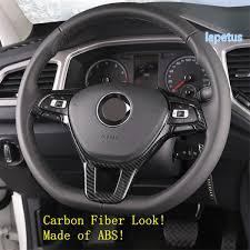 <b>Lapetus Steering Wheel Decoration</b> Frame Cover Trim Fit For VW ...