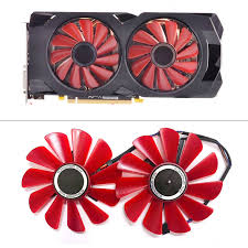 New <b>85MM FDC10U12S9 C</b> Cooler Fan Replace For HIS XFX RX ...