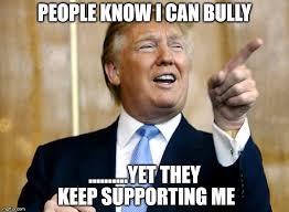 「trump playing Bullying」の画像検索結果
