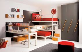fancy images of awesome kid bedroom decoration design ideas endearing red and grey awesome kid awesome modern kids desks 2 unique kids