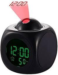 Yosoo LED Projector <b>Alarm Clock Multi-function Digital</b> Temperature ...