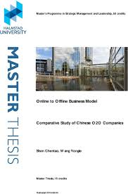 Business Model Comparative Study of Chinese O O Companies DocPlayer net