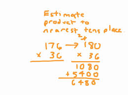 multiplication estimating products multiplication estimating products