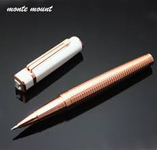 <b>1pc</b> Roller ball Pen with <b>Rose gold</b> diamond pen Gift Set Luxury ...