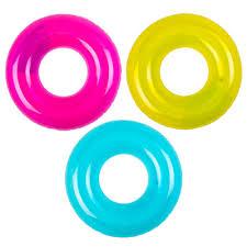 Каталог <b>Надувной круг INTEX</b> 59260 Прозрачный d. 76 см 3 ...