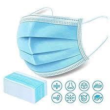 3 ply <b>50 Pcs Disposable Non-Medical</b> Face MASK - Anti-Dust Filter ...