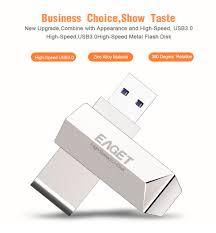 <b>New</b> Eaget F70 USB 3.0 128GB <b>Metal USB Flash</b> Drive U Disk Pen ...