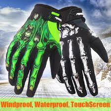 <b>Winter Bike Cycling Motorcycle</b> Ride Skull Bone Skeleton <b>Warm</b> Full ...