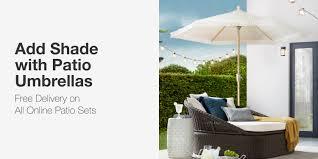 Patio Umbrellas - Patio Furniture - The Home Depot